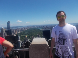 Top of the Rock. Proof I was actually there.
