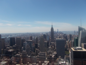 Pretty much each view you can get from the top of the Rockefeller Center is awesome. This was one of them.